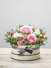 Rose Blush Hatbox