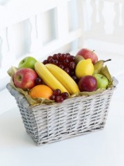 Fruit Basket with Chocolates