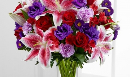Florists Cults - A Bunch of Fresh Summer Flowers Can Bring a Smile to Everyone